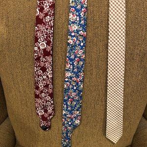 3 Tie Set